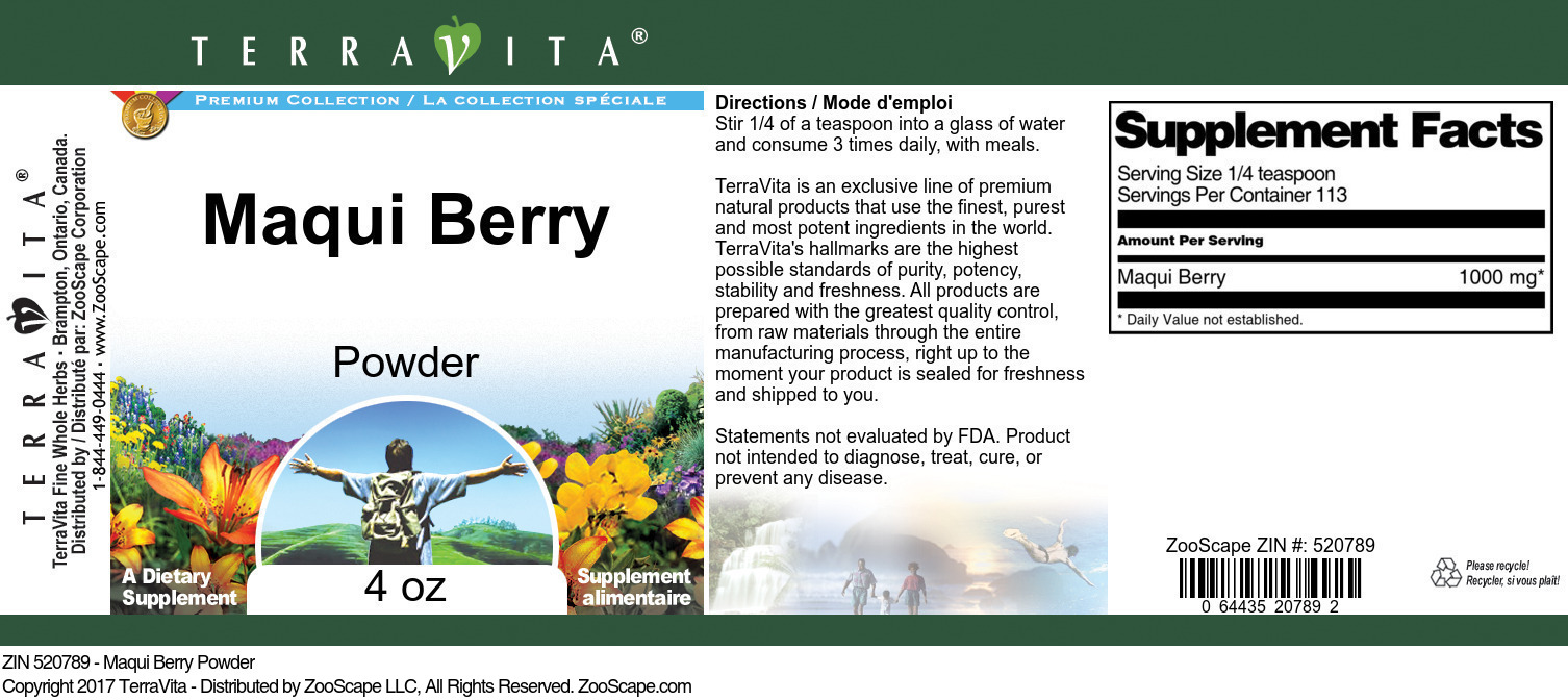 Maqui Berry Powder