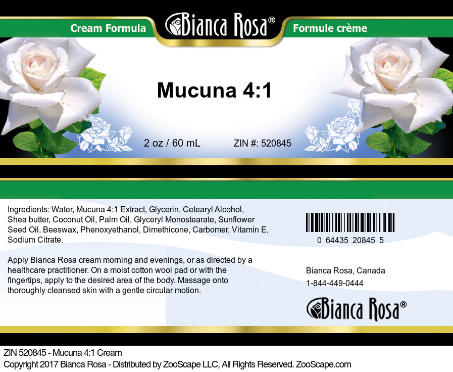 Mucuna 4:1 Cream