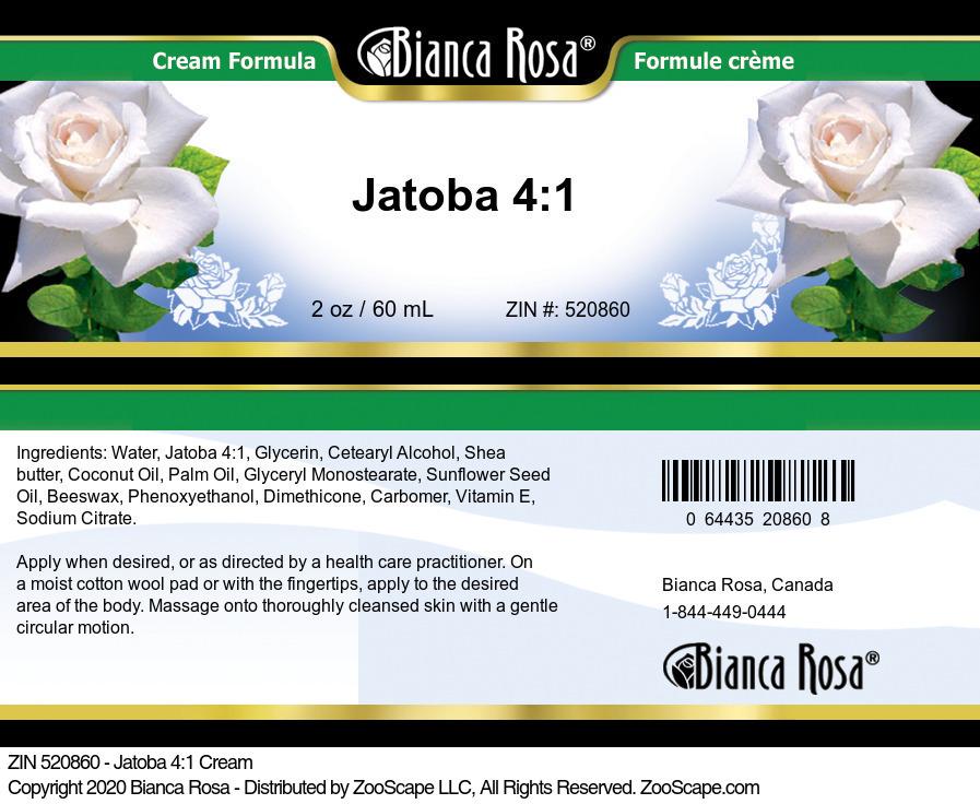Jatoba 4:1 Cream