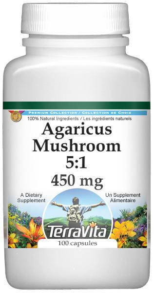 Agaricus Mushroom 5:1 - 450 mg