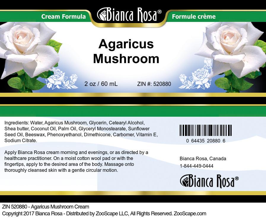 Agaricus Mushroom Cream