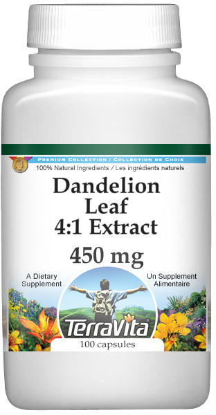 Dandelion Leaf 4:1 Extract - 450 mg