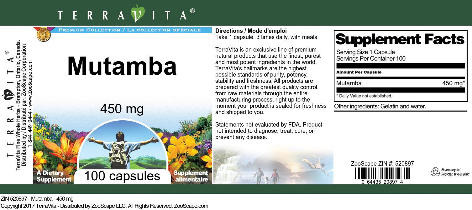 Mutamba - 450 mg