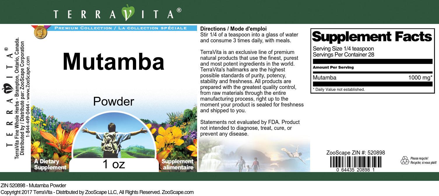 Mutamba Powder