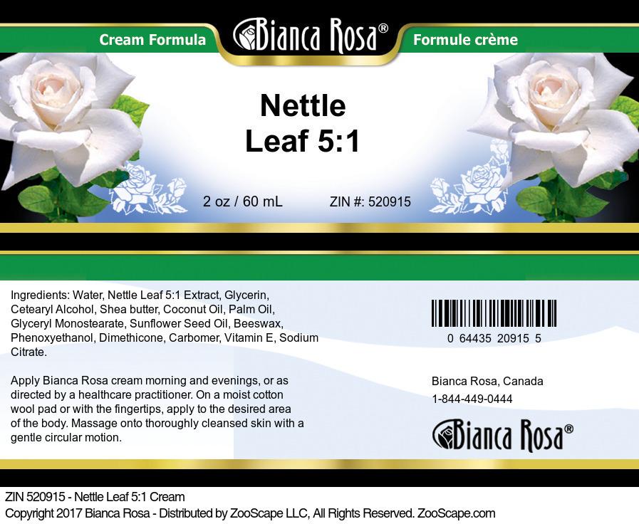 Nettle Leaf 5:1 Cream