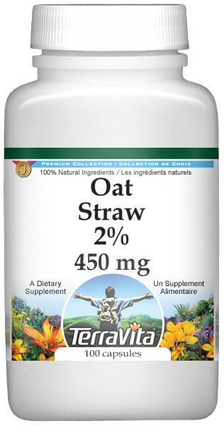 Oat Straw 2% - 450 mg