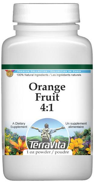 Orange Fruit 4:1 Powder