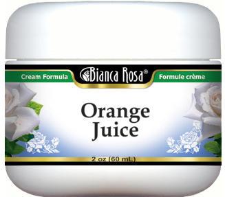 Orange Juice Cream
