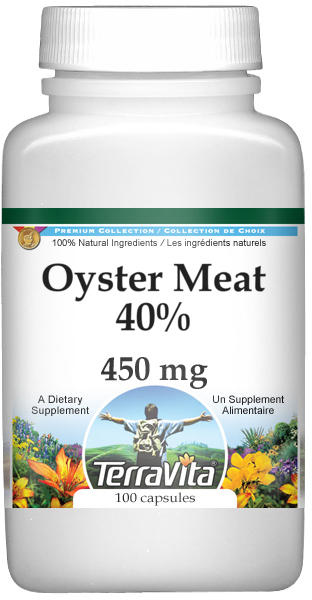 Oyster Meat 40% - 450 mg