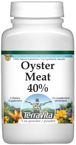 Oyster Meat 40% Powder