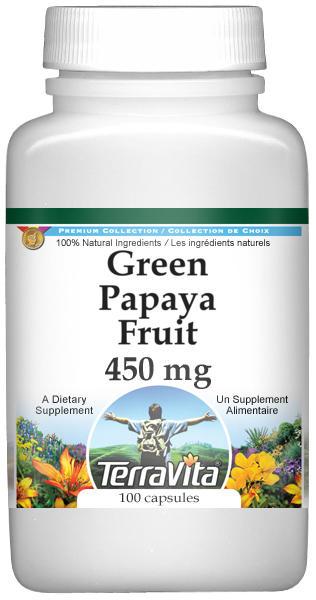 Green Papaya Fruit - 450 mg