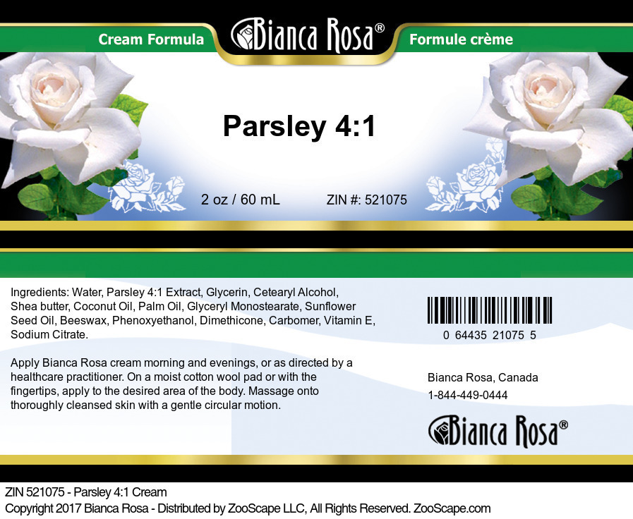 Parsley 4:1 Cream