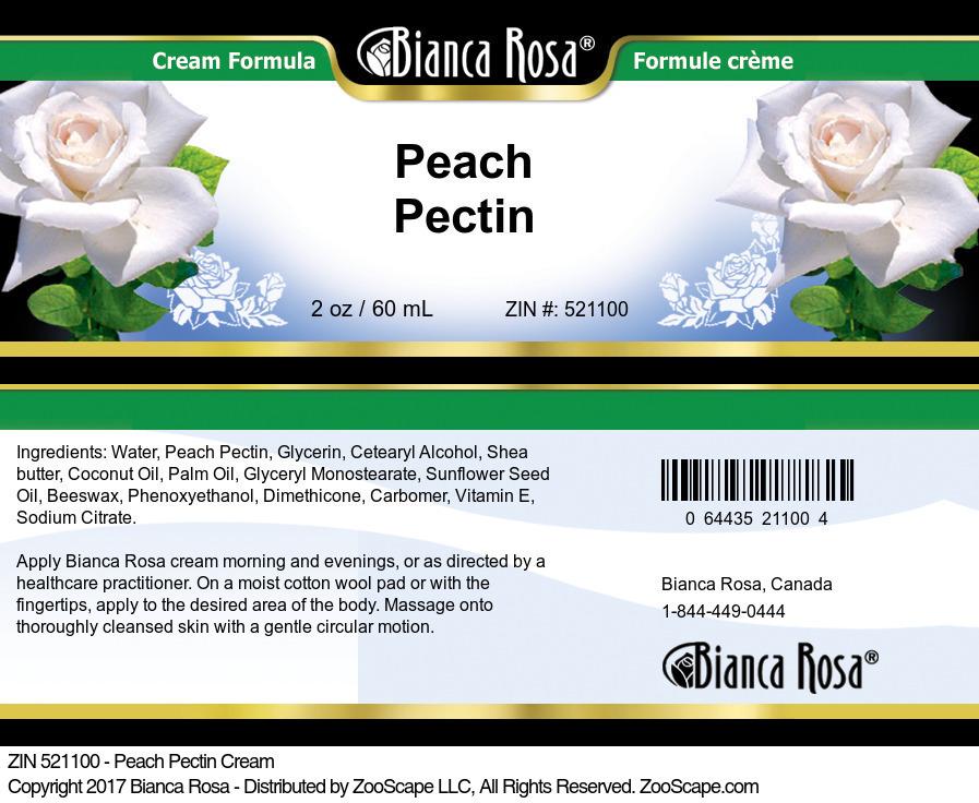 Peach Pectin Cream
