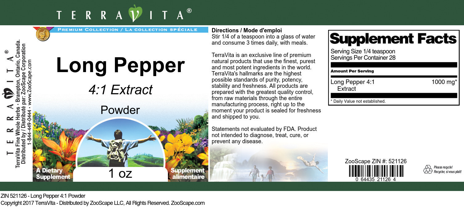 Long Pepper 4:1 Extract
