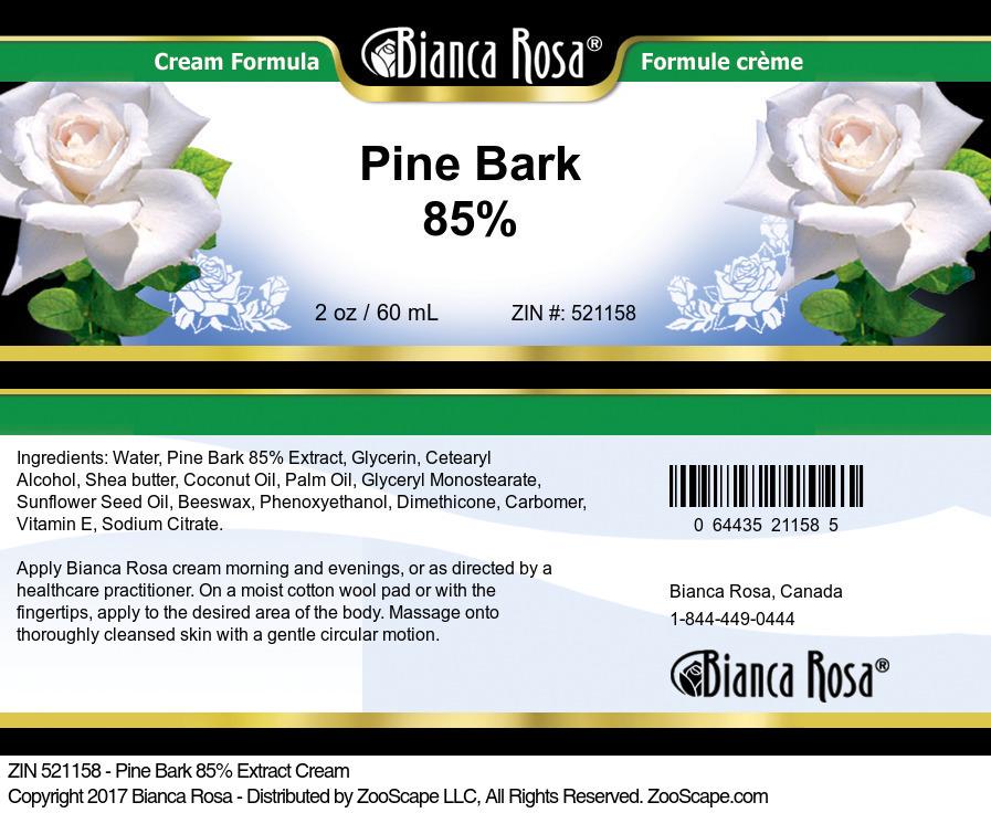 Pine Bark 85% Cream