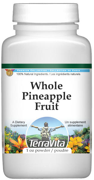 Whole Pineapple Fruit Powder