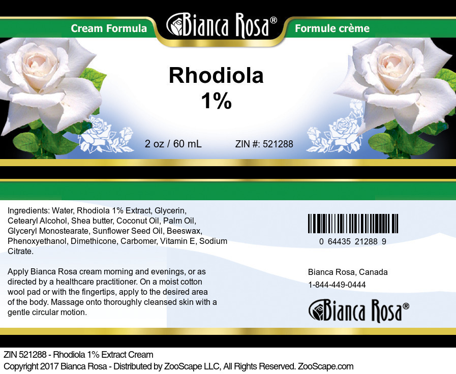 Rhodiola 1% Extract