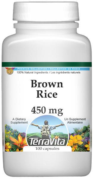 Brown Rice - 450 mg