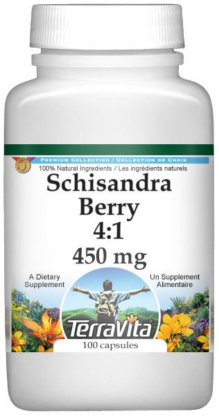 Schisandra Berry 4:1 - 450 mg
