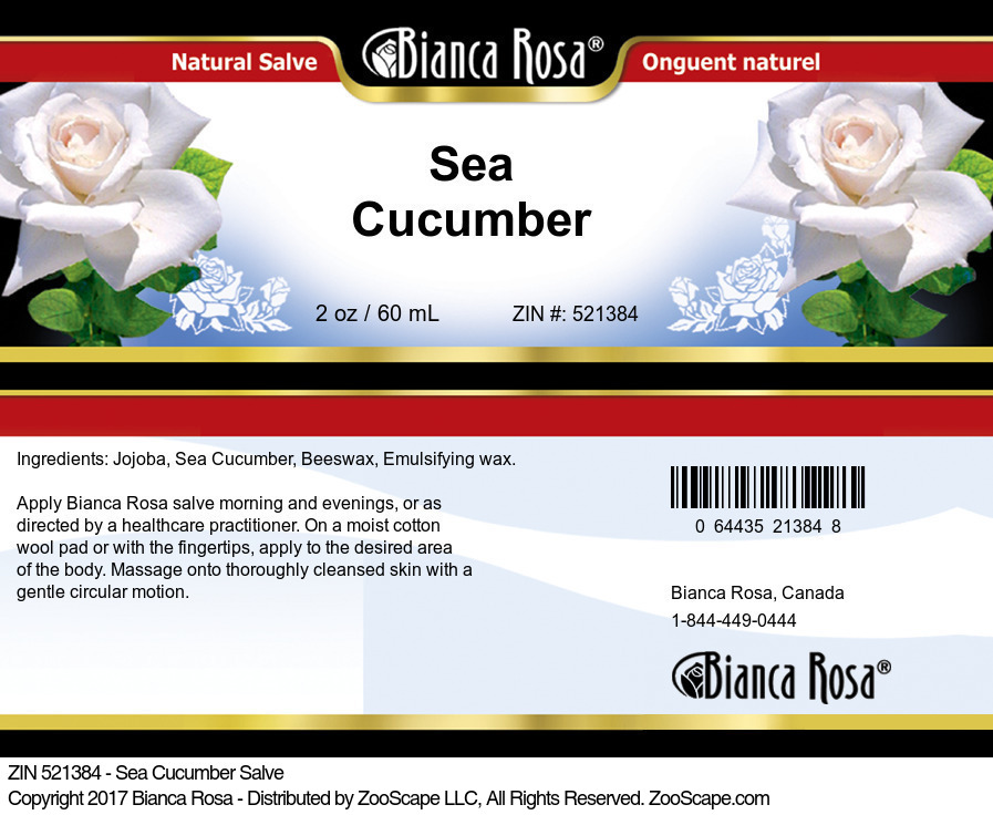 Sea Cucumber Salve