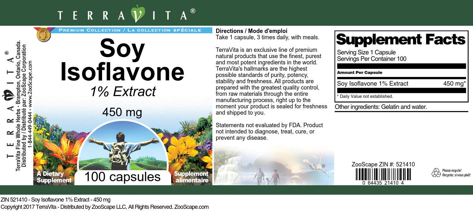 Soy Isoflavone 1% Extract