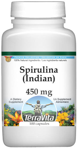 Spirulina (Indian) - 450 mg