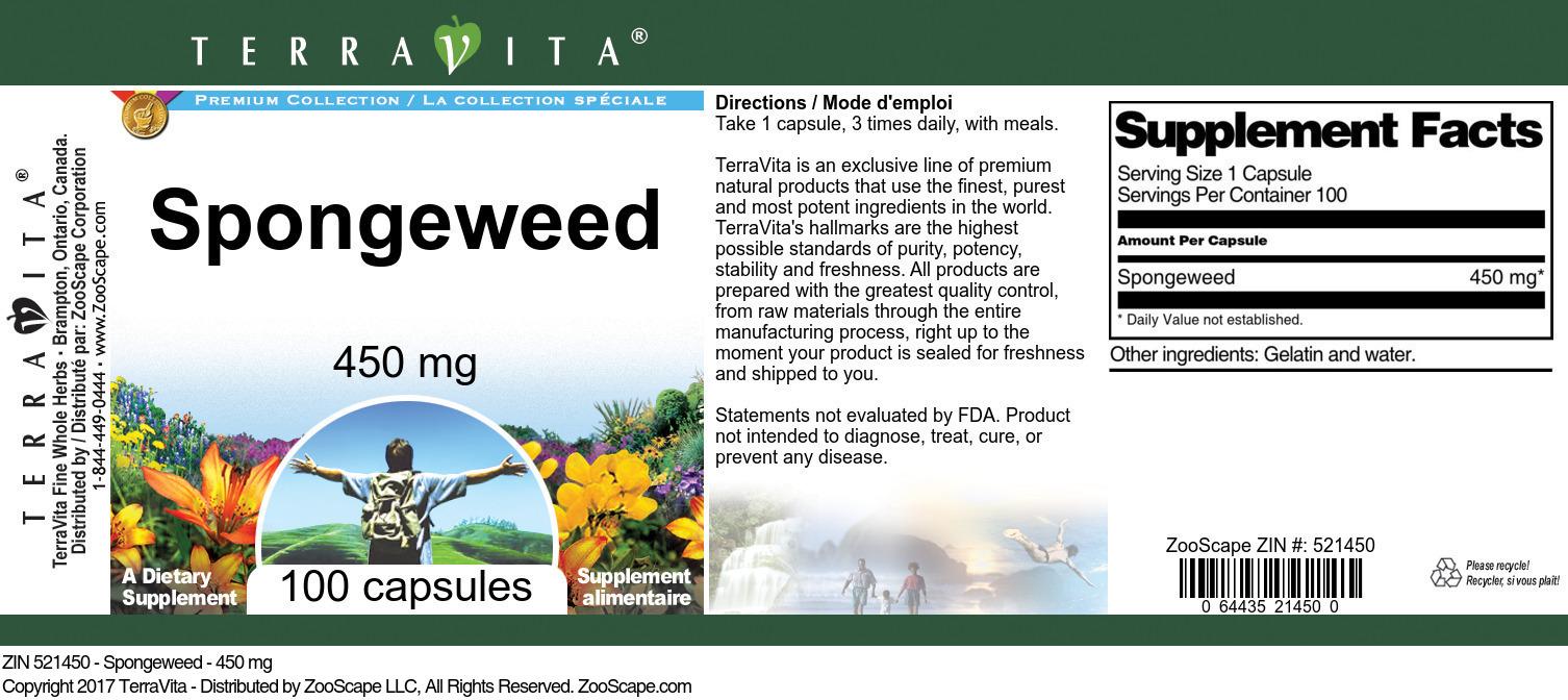 Spongeweed - 450 mg