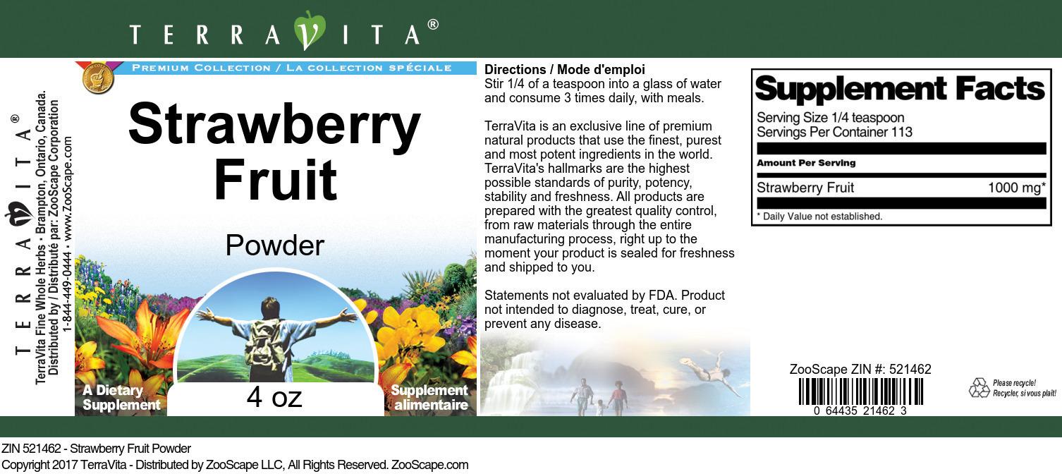 Strawberry Fruit Powder