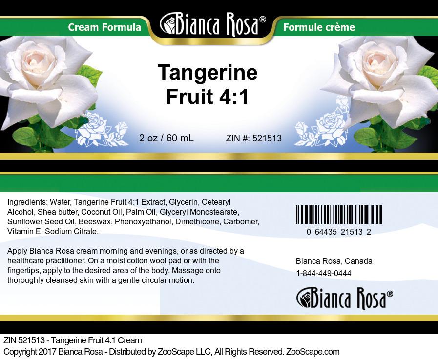 Tangerine Fruit 4:1 Cream