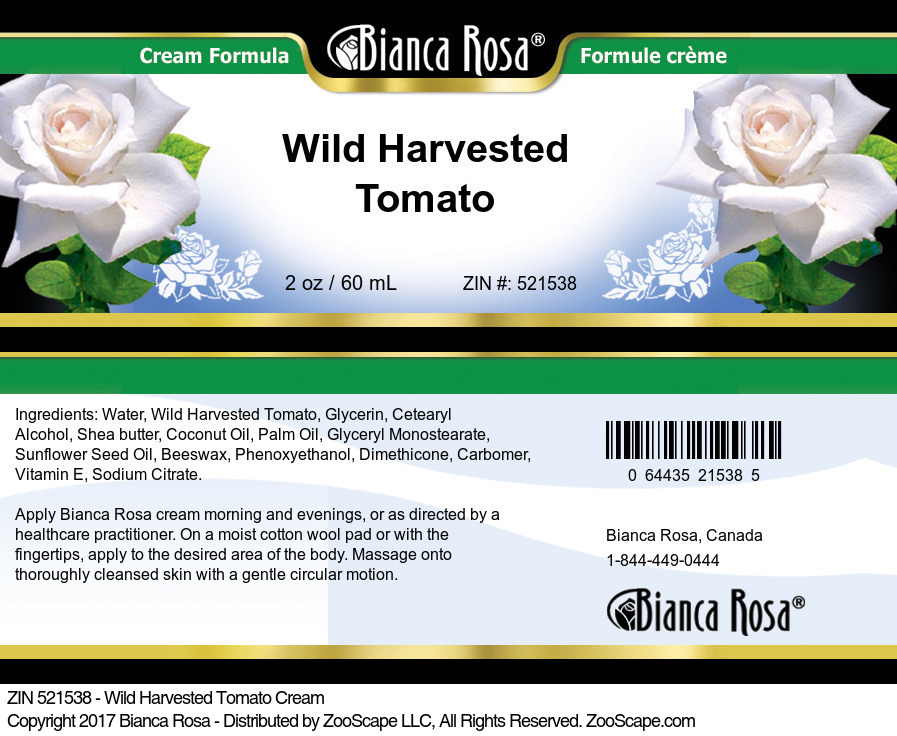 Wild Harvested Tomato Cream
