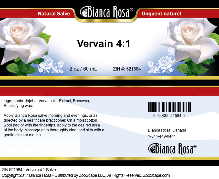 Vervain 4:1 Extract