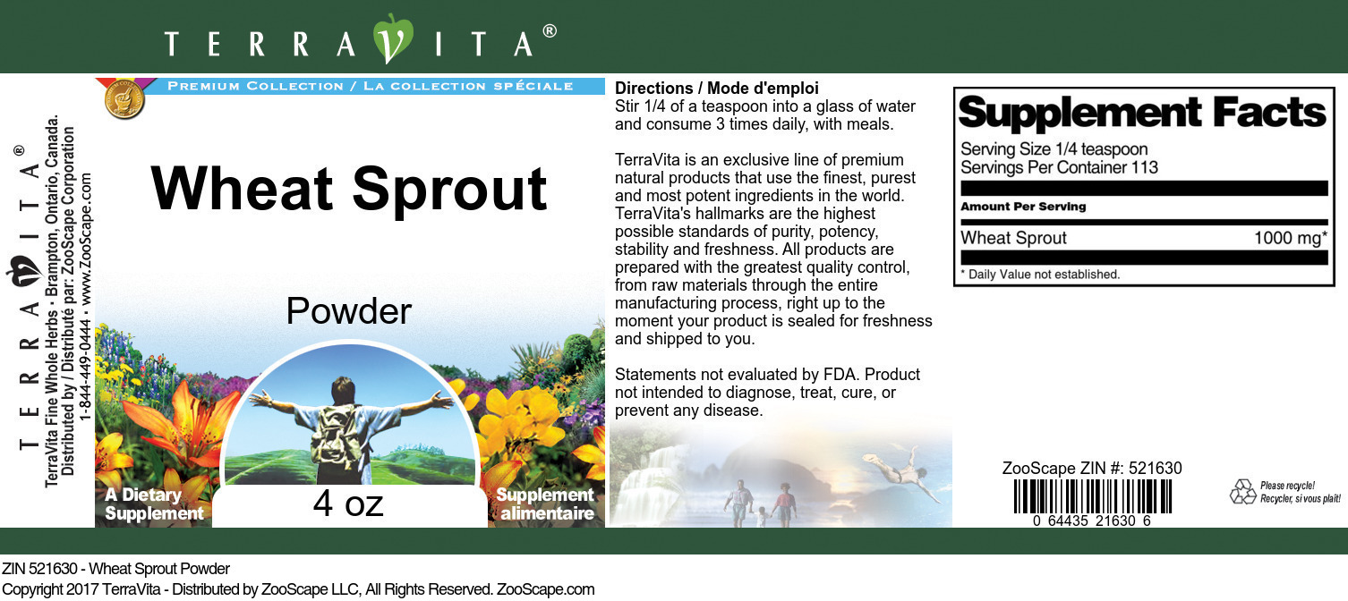 Wheat Sprout Powder