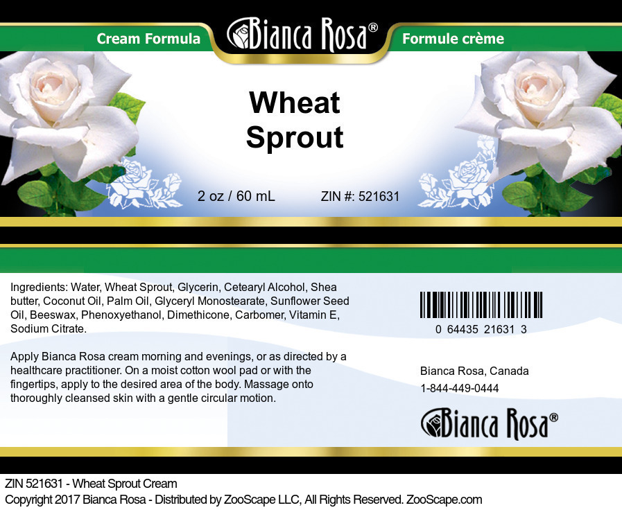 Wheat Sprout Cream