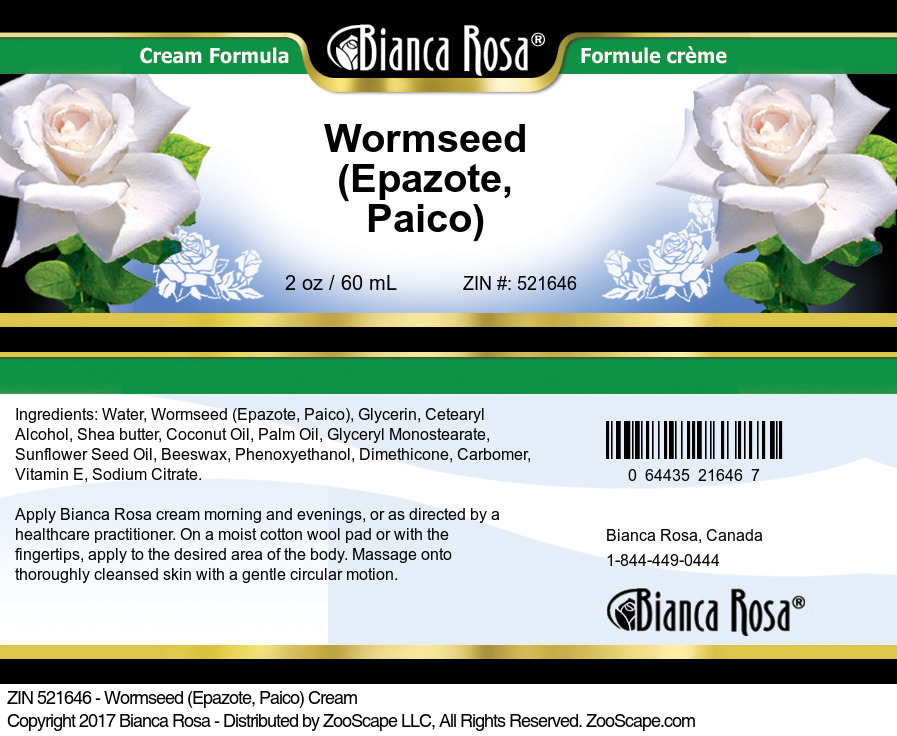 Wormseed (Epazote, Paico) Cream