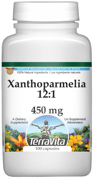 Xanthoparmelia 12:1 - 450 mg