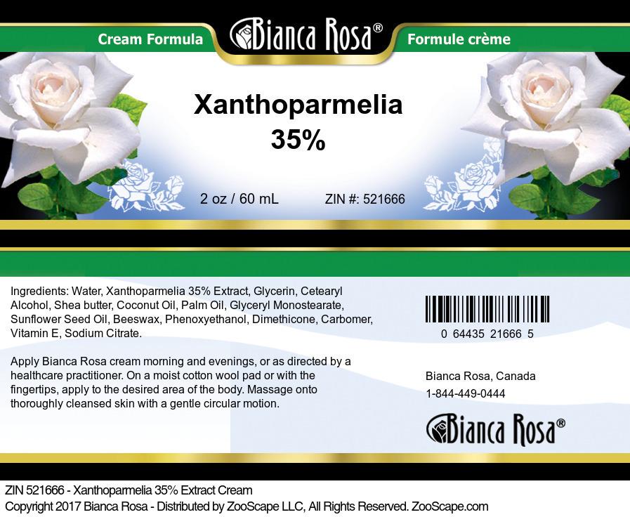 Xanthoparmelia 35% Cream
