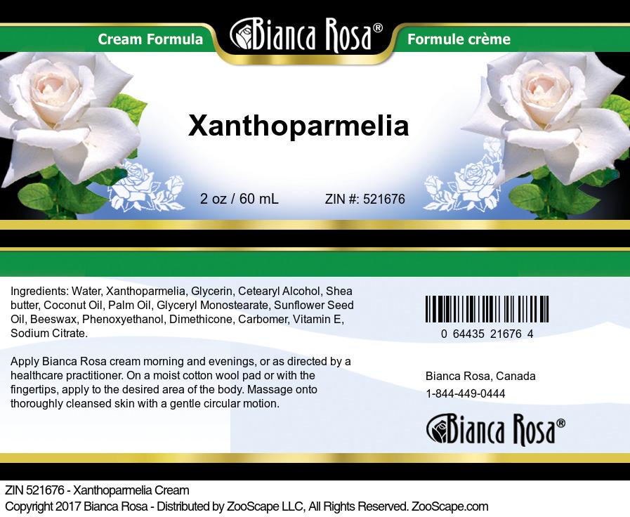 Xanthoparmelia Cream