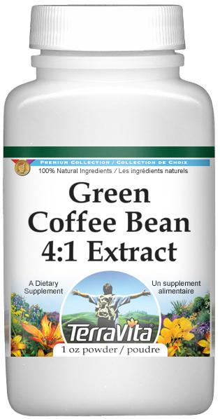 Green Coffee Bean 4:1 Extract Powder