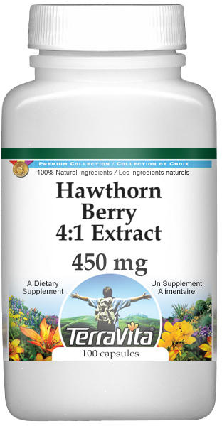 Hawthorn Berry 4:1 Extract - 450 mg