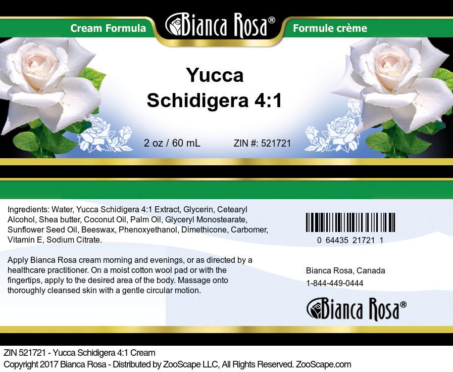 Yucca Schidigera 4:1 Cream