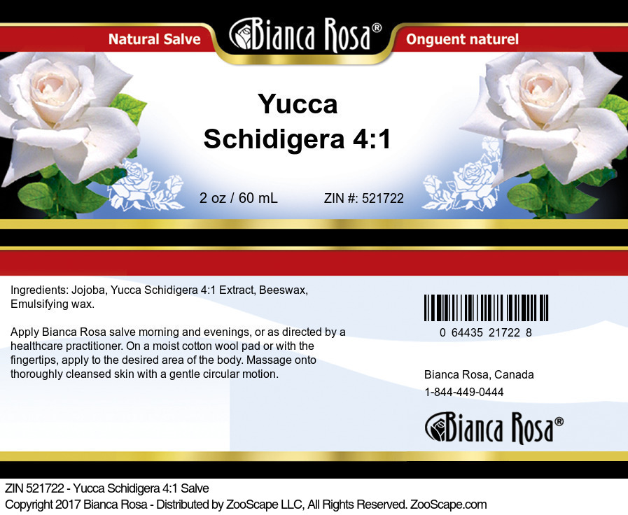 Yucca Schidigera 4:1 Salve