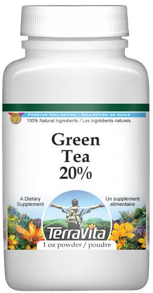 Green Tea 20% Powder