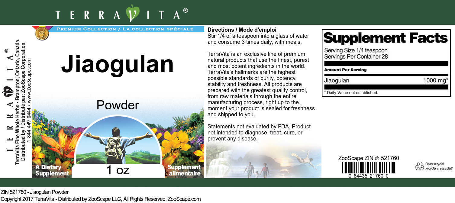 Jiaogulan Powder