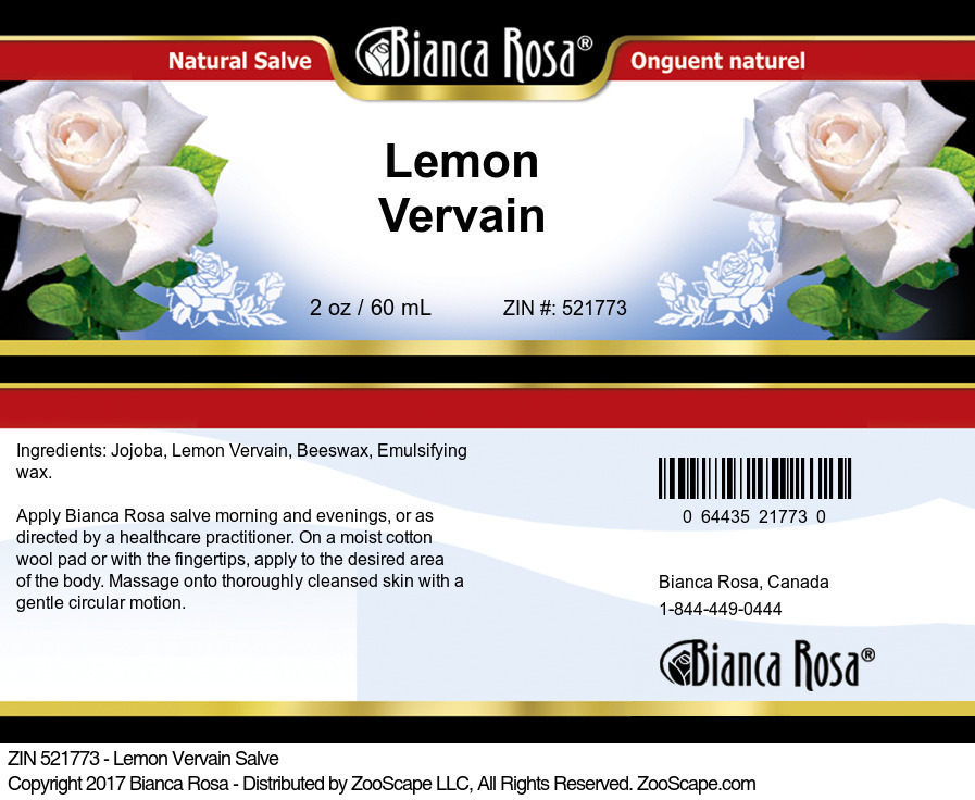 Lemon Vervain Salve