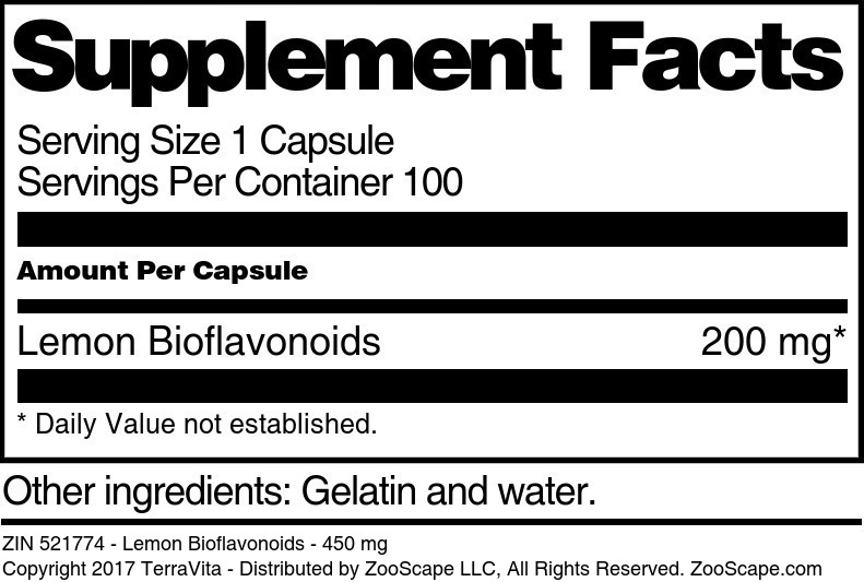 Lemon Bioflavonoids