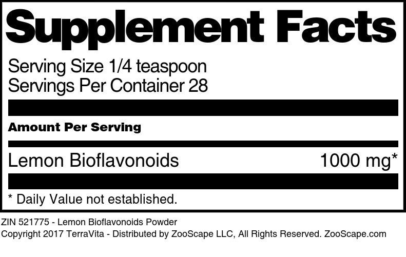 Lemon Bioflavonoids Powder