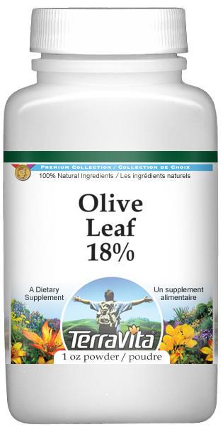 Olive Leaf 18% Powder