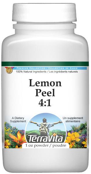 Lemon Peel 4:1 Powder
