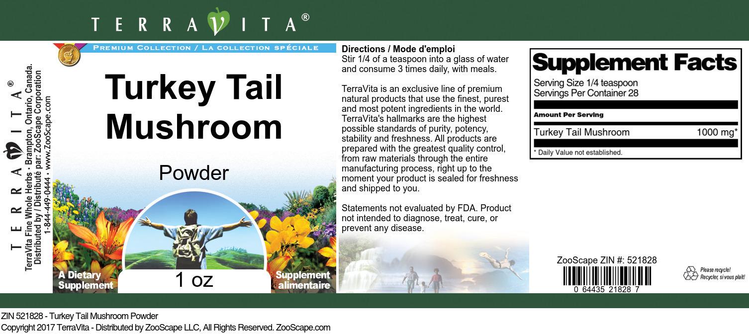 Turkey Tail Mushroom Powder