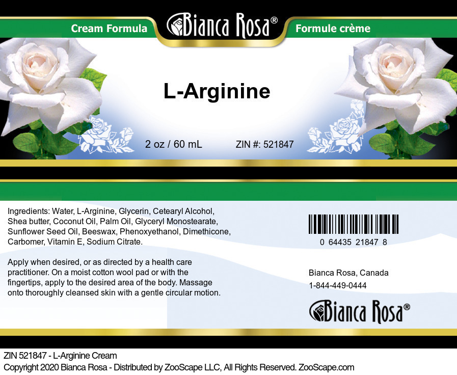 L-Arginine Cream